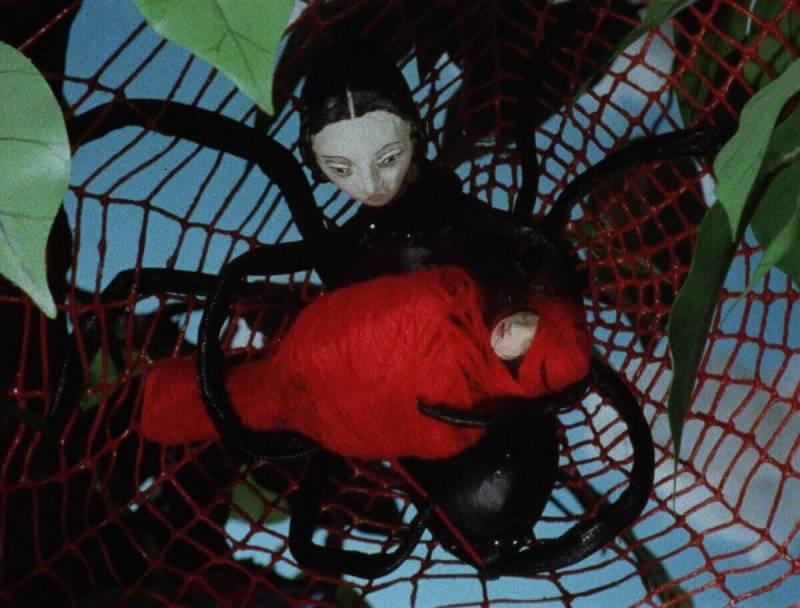 Blood Tea and Red String (Dir. Christiane Cegavske) Spider