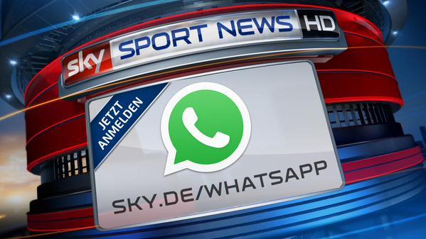 Sport News HD mit WhatsApp