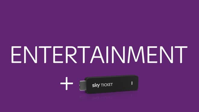 Sky Entertainment Ticket + TV-Stick