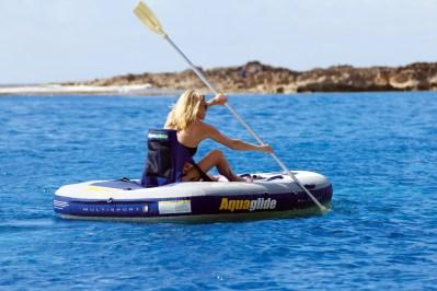 Aquaglide Multisport 270 - Kayak Setup