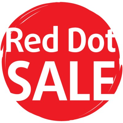 Sky's Red Dot Sale Sale