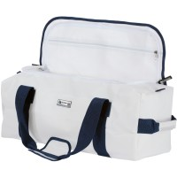 Bainbridge Sailcloth Holdall Bag - 43L White