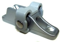 Clamcleat CL246 Twin Roller Mk1 Rope Cleat