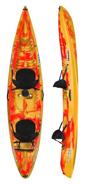 Islander Paradise II Kayak - Saffron/Red
