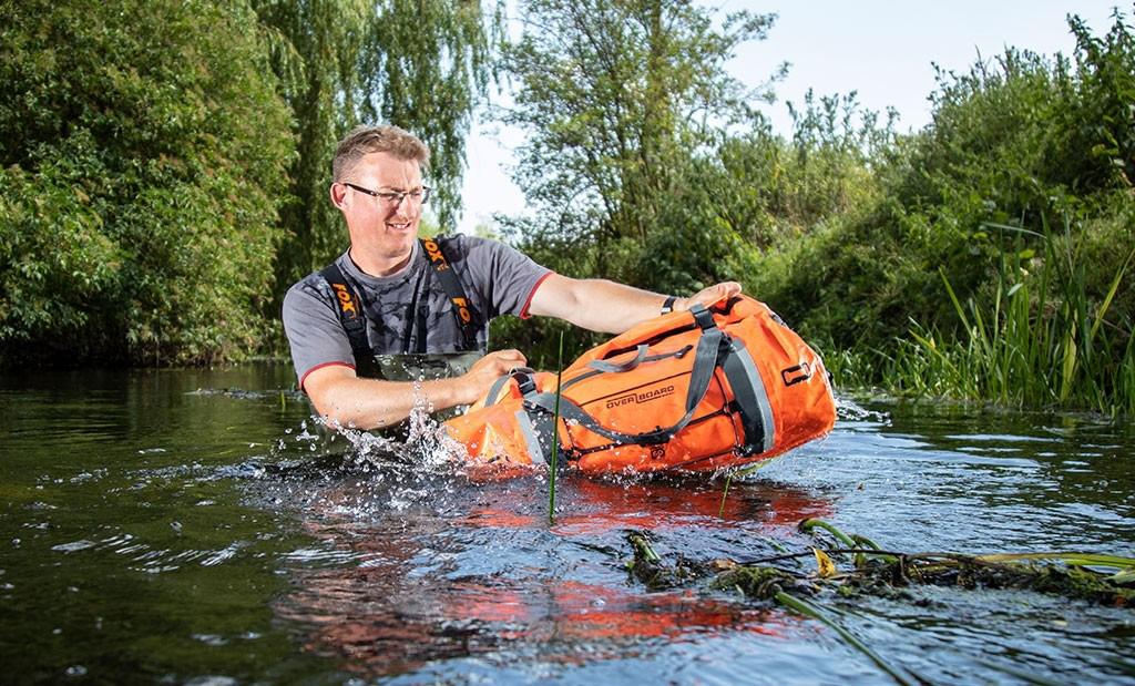 0059cd5d2b OverBoard 60L Pro-Vis Waterproof Duffel Bag - Tough and Visible