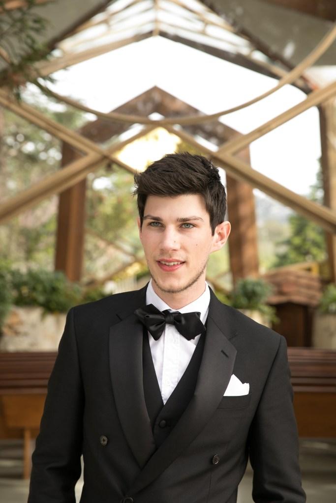 groom handsome model