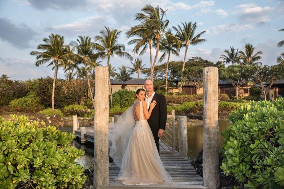 Four Seasons Hualalai Wedding Skyandreefphotography Com