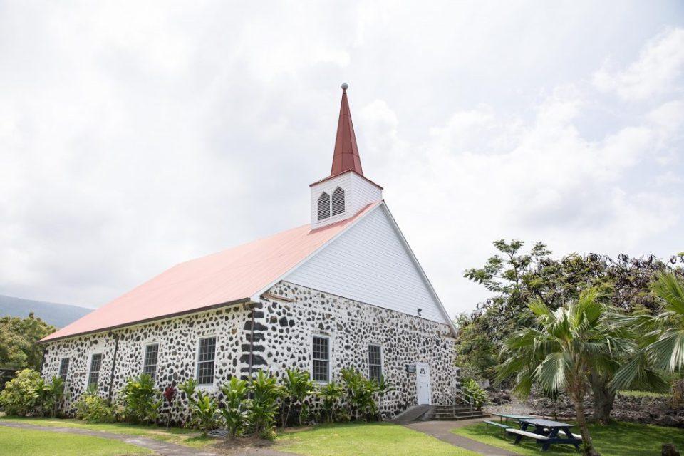 Kahikolu Church Big Island Wedding Venue