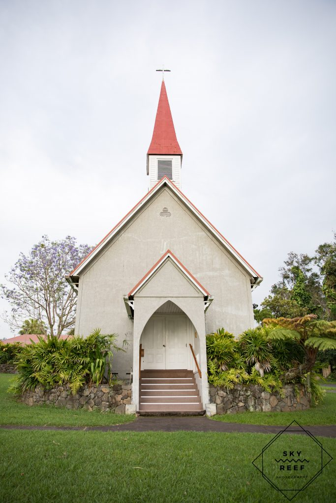 Pu'uanahulu Baptist Church Big Island Wedding Venue