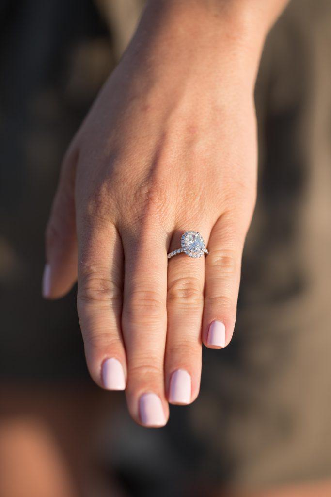 girlfriends new engagement ring
