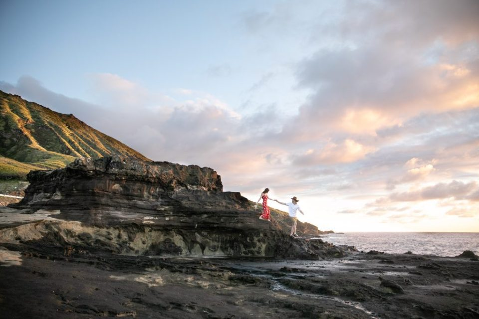 engagement hawaii Pinterest