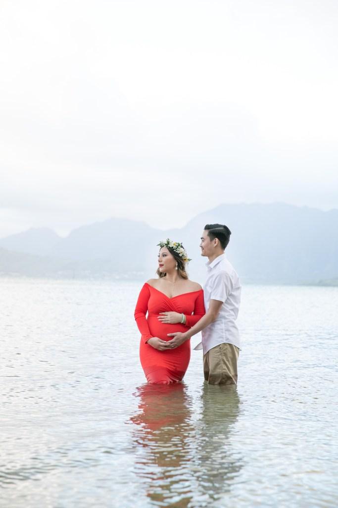 Kualoa Maternity Photography