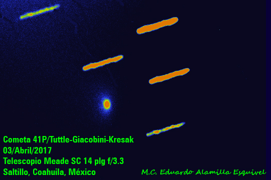 Image result for Comet 41P Tuttle-Giacobini-Kresak Orbit