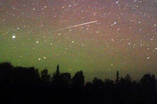 Image of meteor