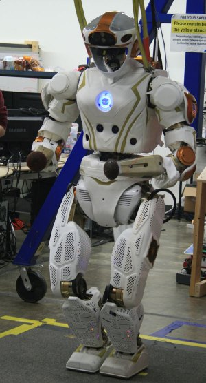 Valkyrie, NASA's humanoid space robot.