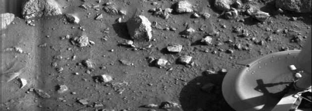 Viking 1 Lander's first image