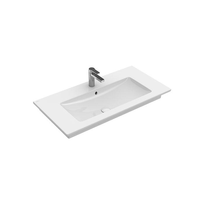Villeroy Boch Plan De Toilette Venticello 41048g01 800 X 500 Mm Blanc Angulaire