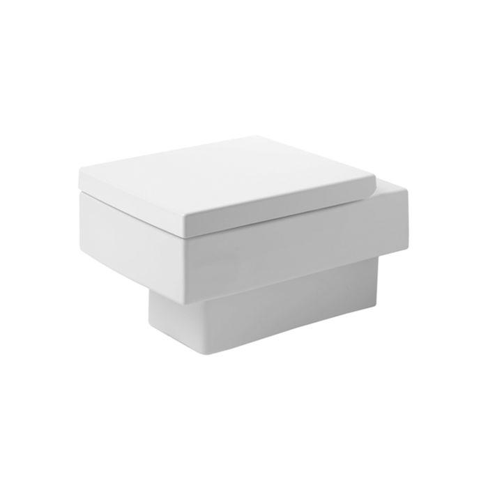 duravit vero wc suspendu 2217090064 blanc 540 mm cuvette a fond creux