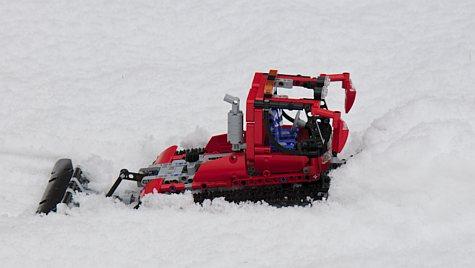 LEGO sneeuwploeg
