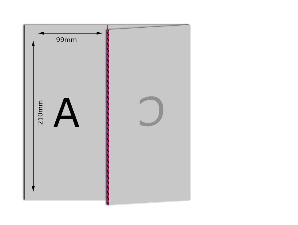 A4 6pp DL Bad Fold