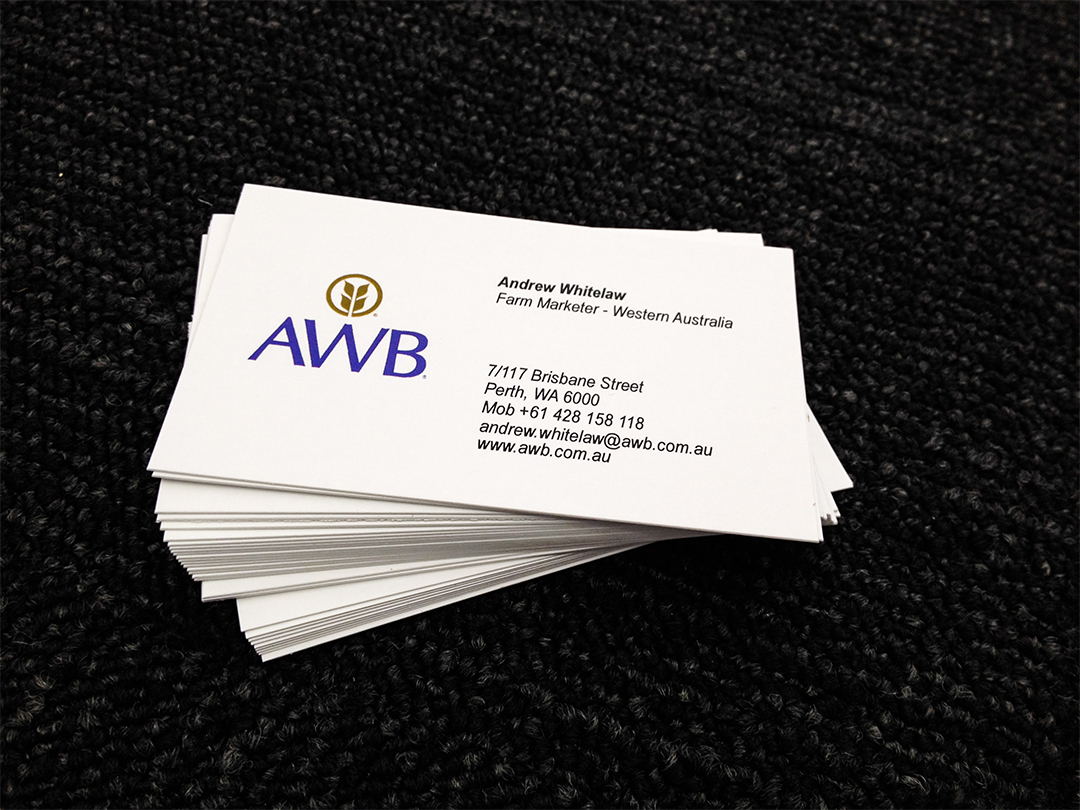 Business Cards Perth Western Australia Choice Image - Card Design ...
