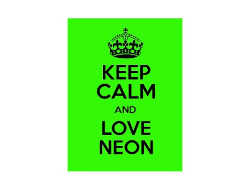 Promotional Neon Posters