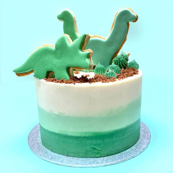 Handmade Luxury Dinosaur Cake