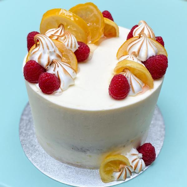 Hand made Summer Lemon Cake