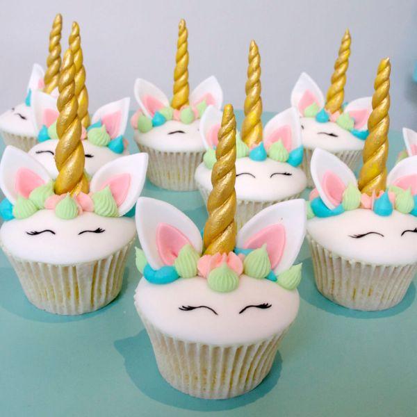 Hand made Unicorn cupcakes
