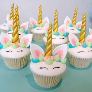Hand made Unicorn cupcakes