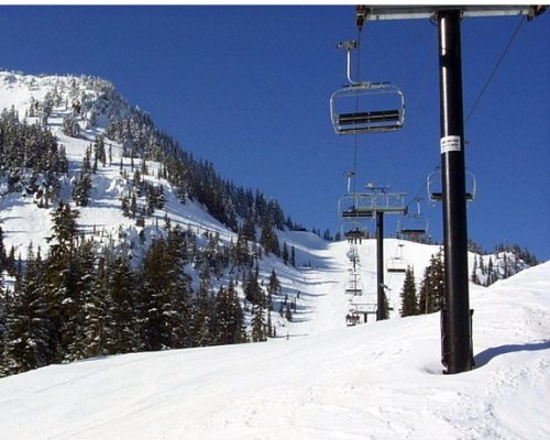 Stevens Pass ski area Washington