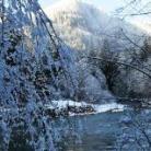 Skykomish River rental cabin