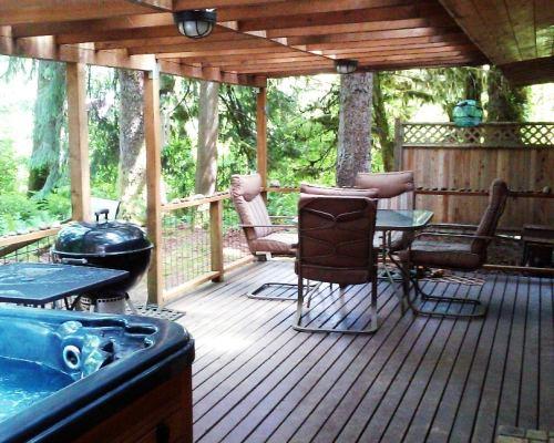 pet friendly cabin washington state