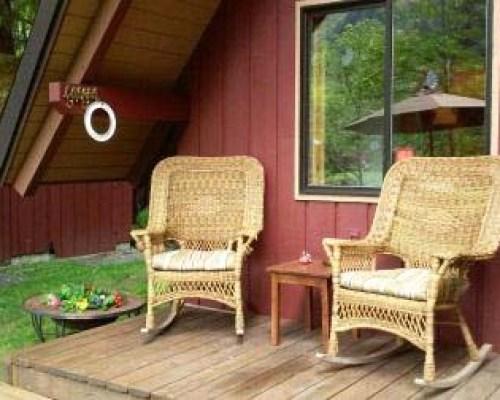Relaxing weekend rental cabin
