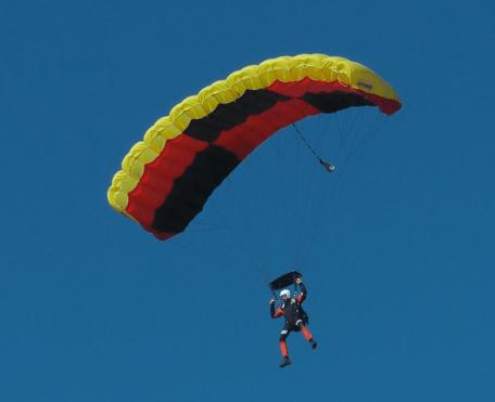 AFF parachute course