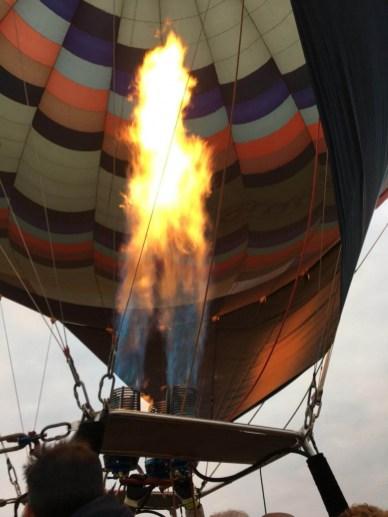 salto en globo