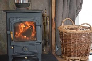 Woos stove in Tigh Eilidh