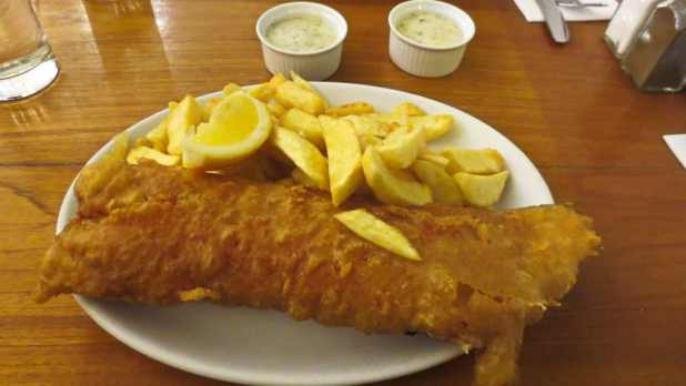 Fish and Chips at Bankers