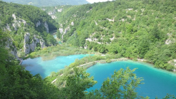 Plitvice Lakes Distance Shot