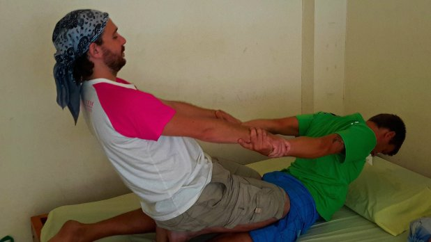 Authentic Thai Massage Assisted Yoga Stretch