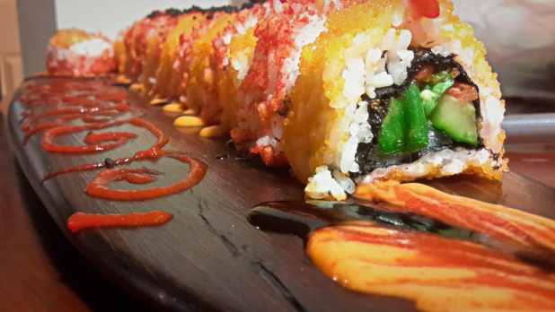 Homemade Sushi Art