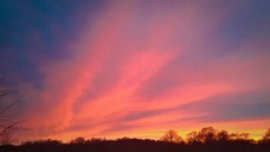 Sunset Over Farm #19