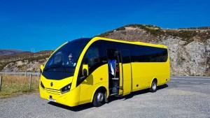 Haggis Adventures Tour Bus