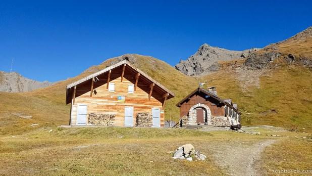 GR 5 Alpine Trail Refuge in Tignes