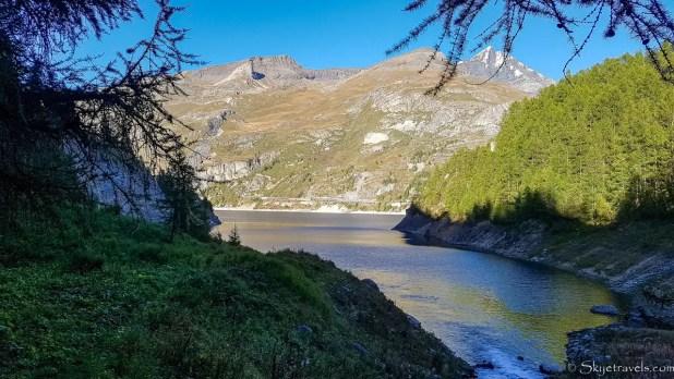 Lac du Chevril Near Tignes