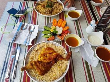 Lunch at Mandi