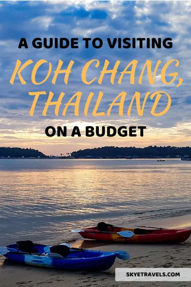 Koh Chang on a Budget Pin