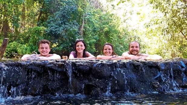 Selfie at Pai Hot Springs