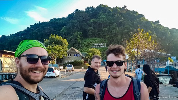Selfie with Brother on Koh Chang