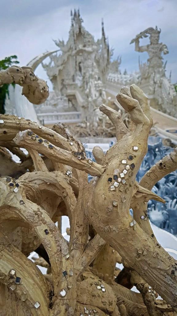 White Temple Decorations #1
